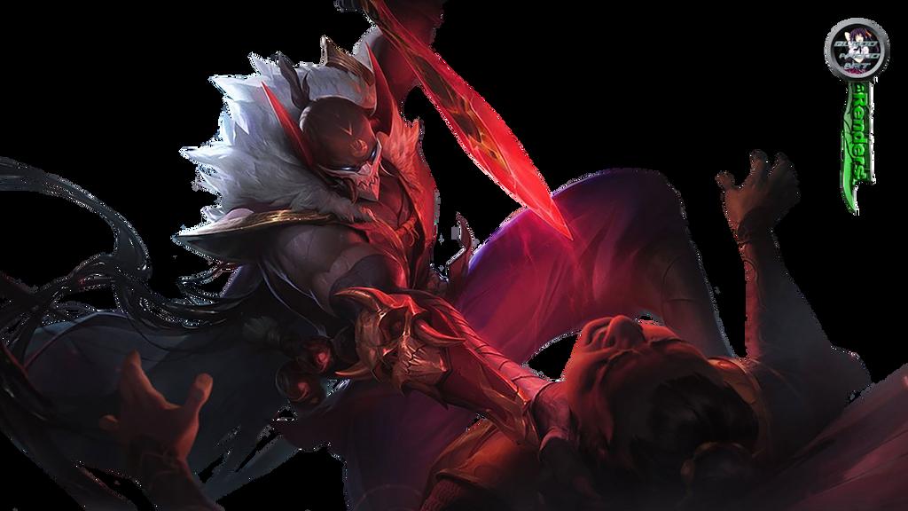 League of Legends Blood Moon Pyke Render by BloodAkenoArt on DeviantArt