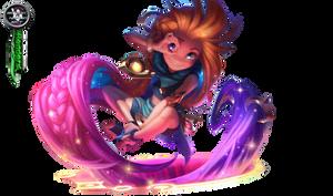 League of Legends Zoe Render