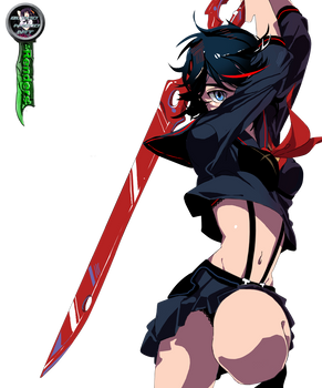 Kill la Kill Ryuko Render