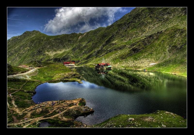 Lake Balea by fulmination