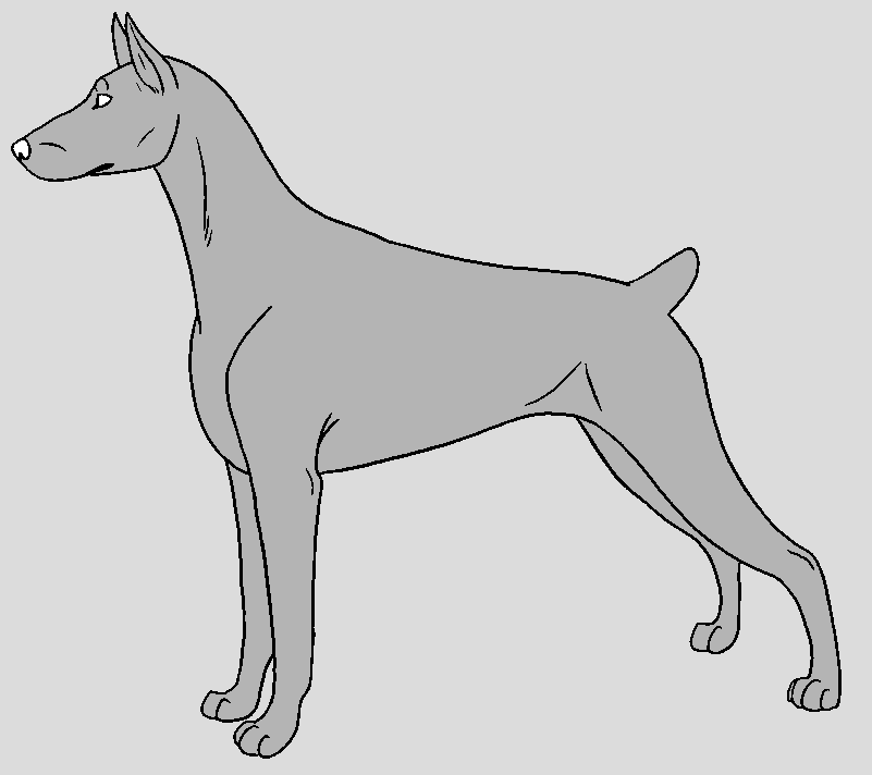Doberman Coloring Pages - 2018 images & pictures - Project Ideas ...
