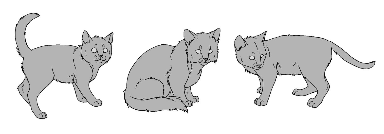 Kitten Bases by NaruFreak123-Bases