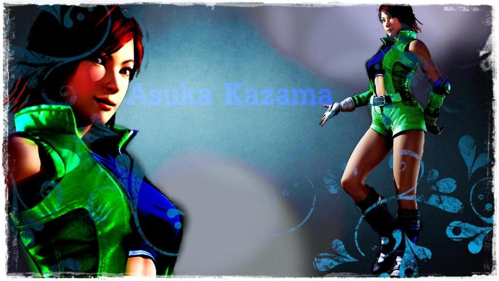 Asuka Kazama by asukajin
