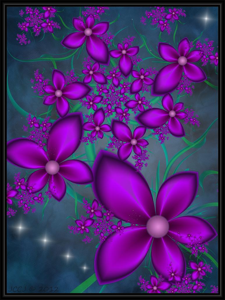 Purple Blooms by JCCJ756