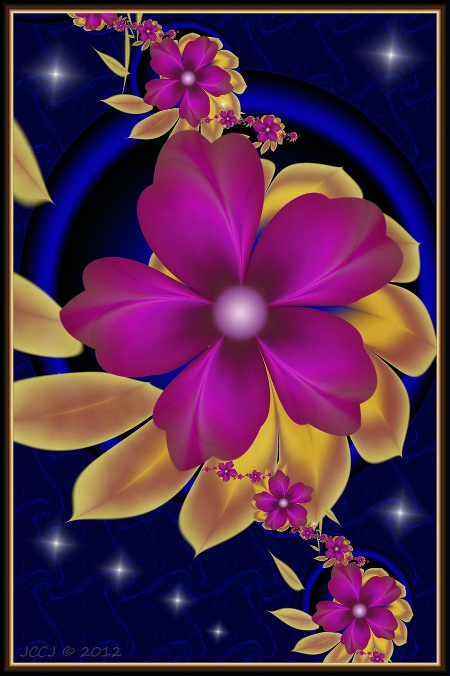 Purple Blooms 2 by JCCJ756