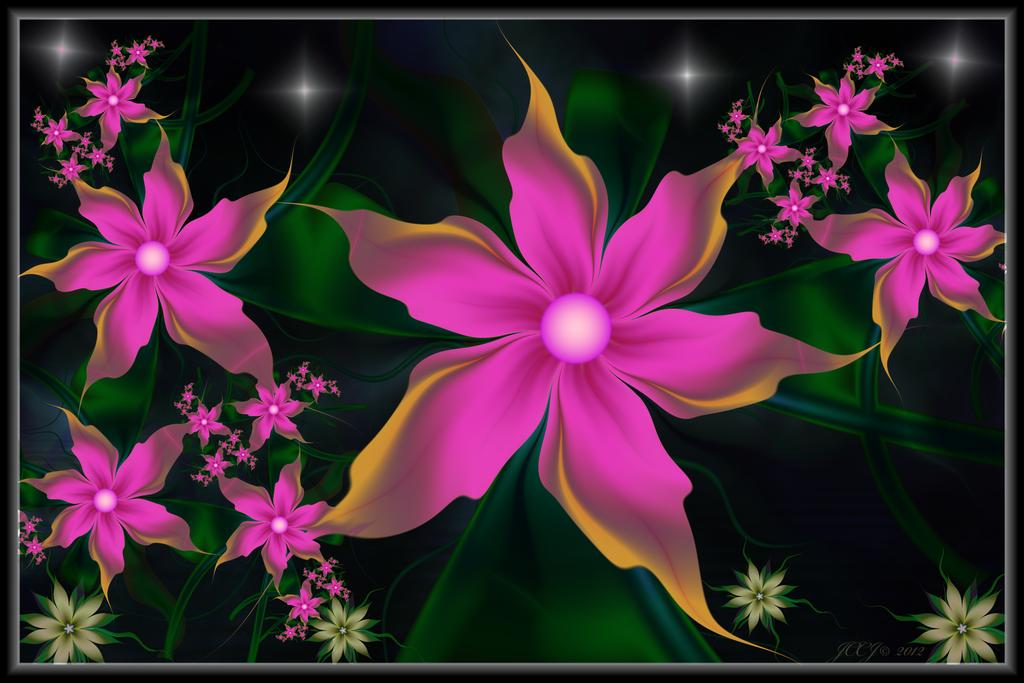 Pink Blooms 2 by JCCJ756