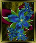 Blue Flowers 1  2014