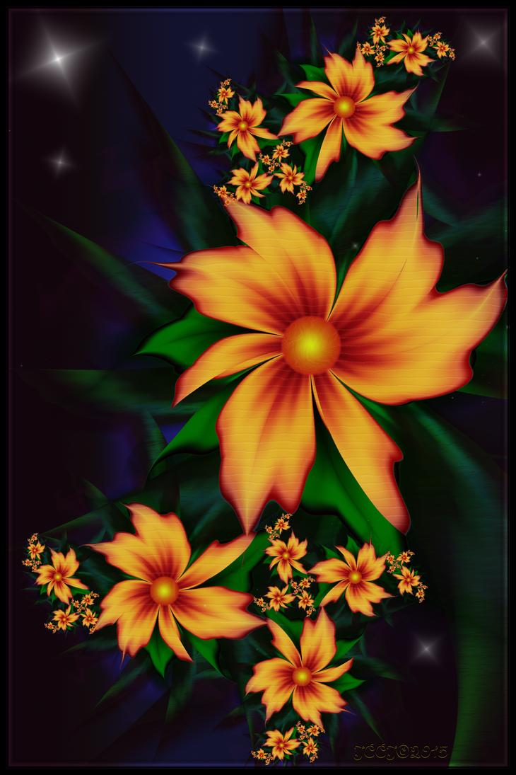 Late Night Blooms by JCCJ756