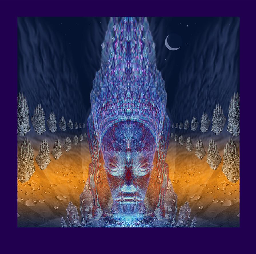 Buddha Multiverse by scottfacon