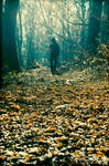 ..walking alone