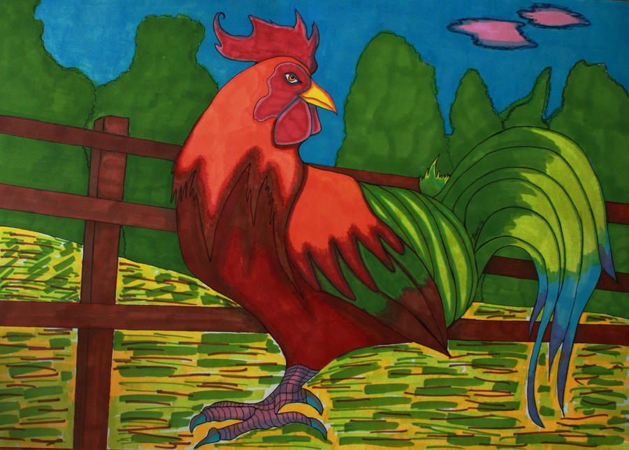 Rooster time by hann156