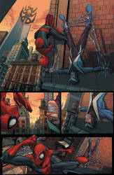 spidey page 1 by ZurdoM