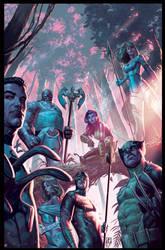 X- Men 19 cover by ZurdoM