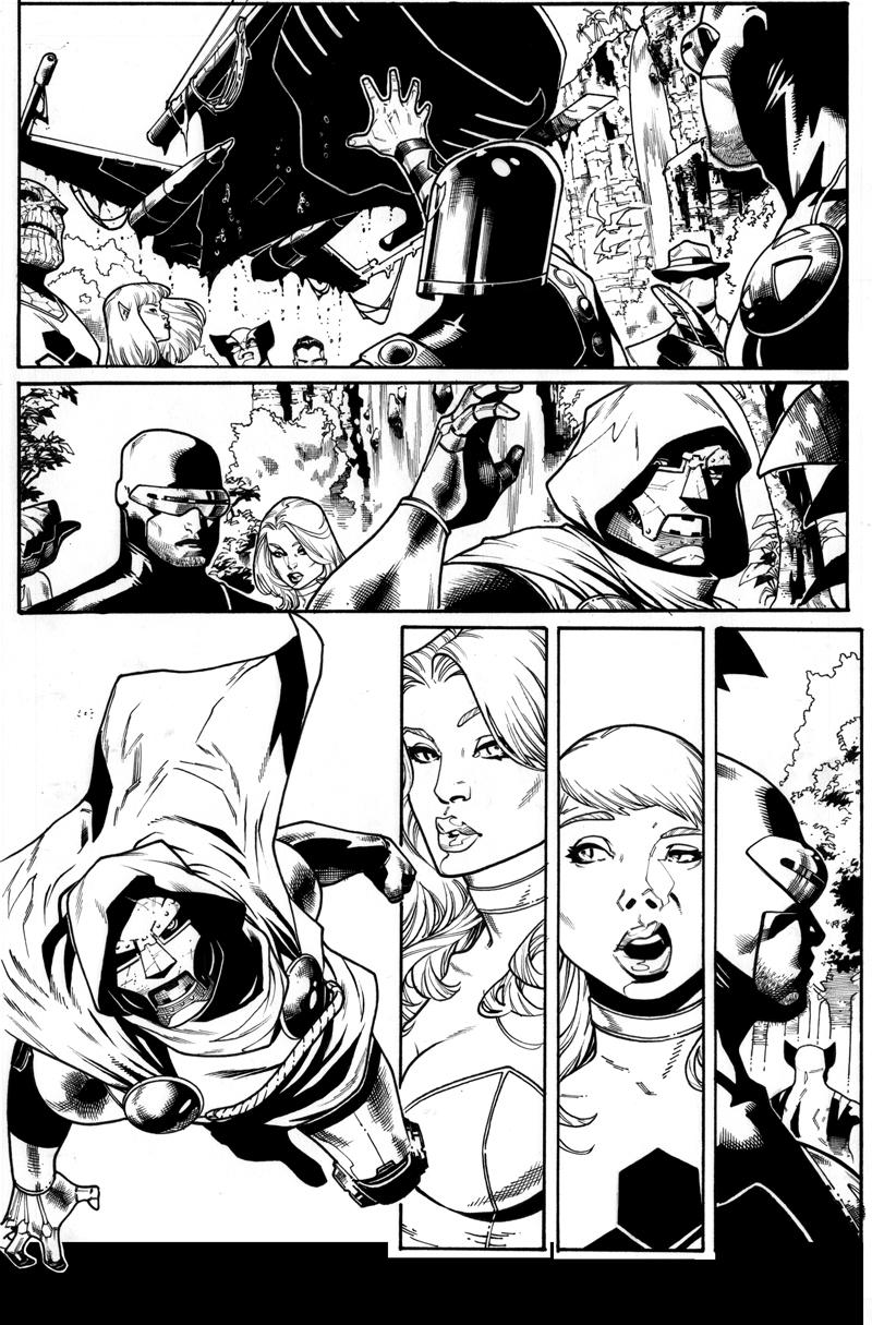 X- Men 16 page 14 by ZurdoM