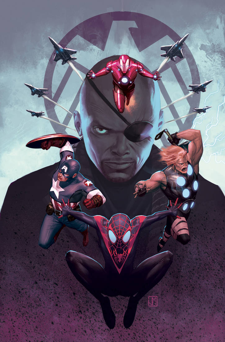 Ultimate Spiderman 16 Cover