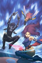 X-MEN 34 cover by ZurdoM