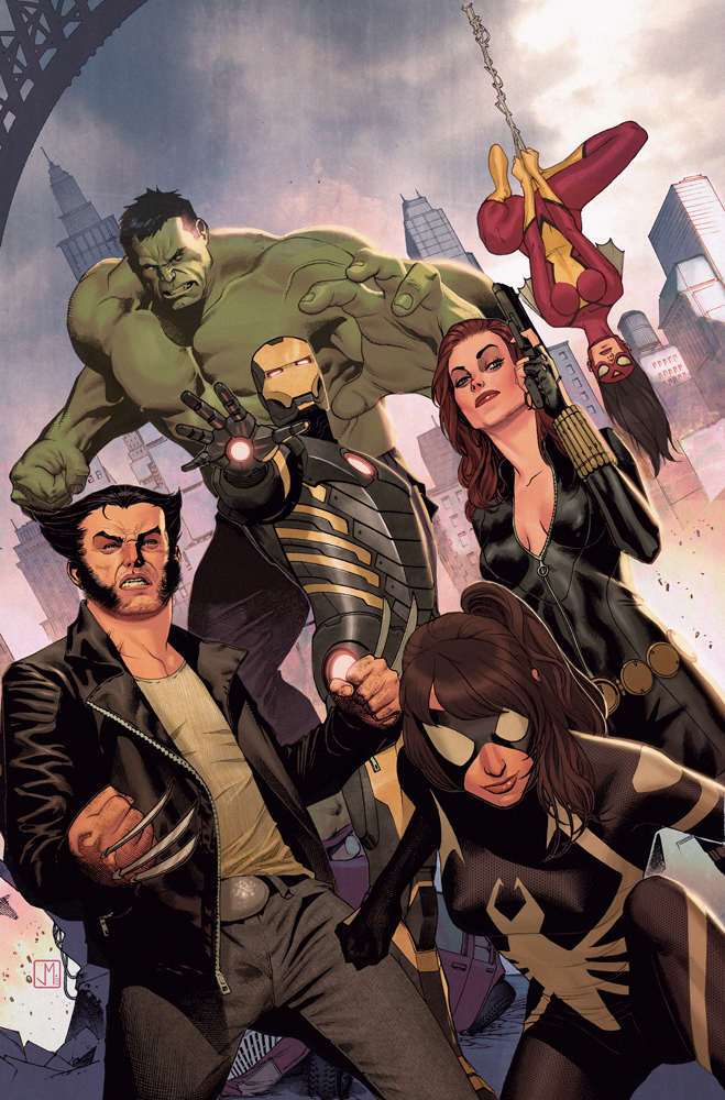 Avengers Assemble #25 by ZurdoM