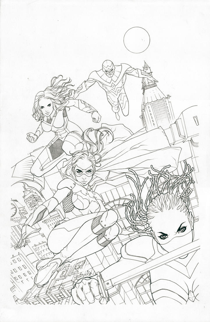 Birds of prey 28 by zurdom on deviantart for Birds of prey coloring pages