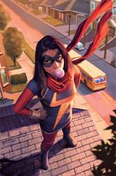 Ms. Marvel by ZurdoM
