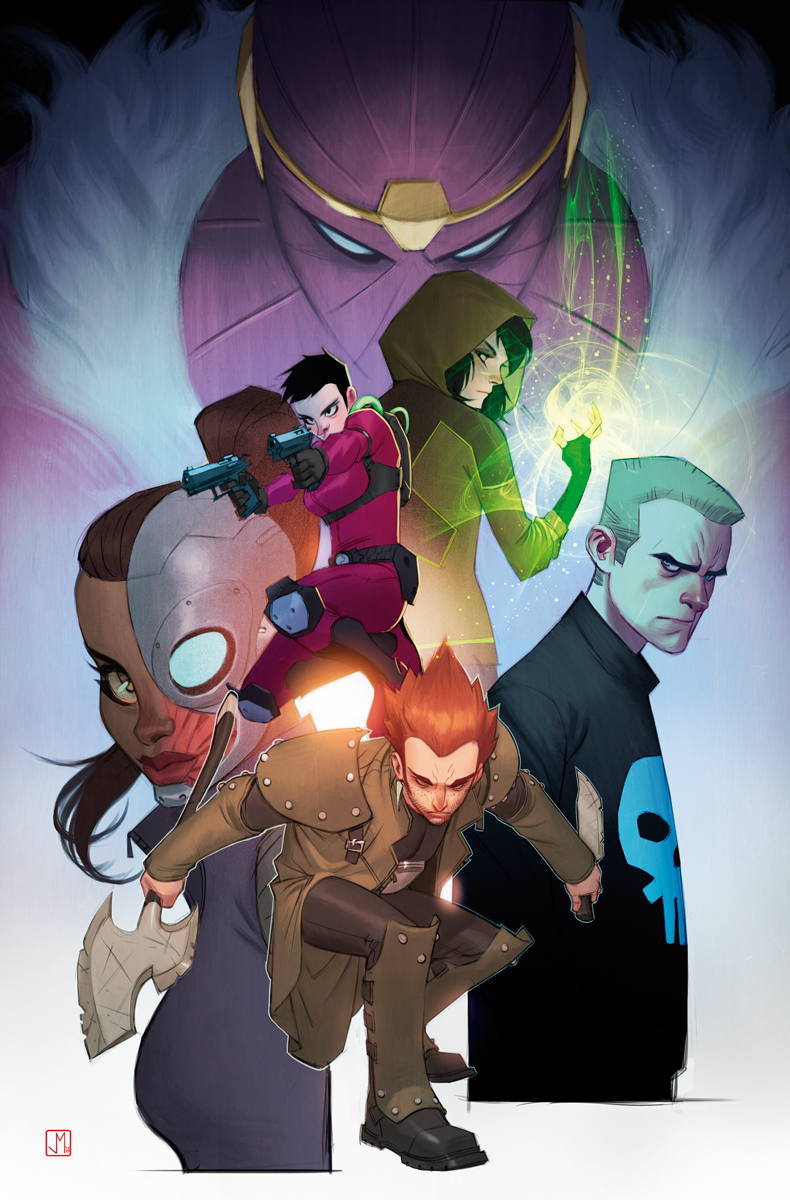 Avengers Undercover #3 by ZurdoM
