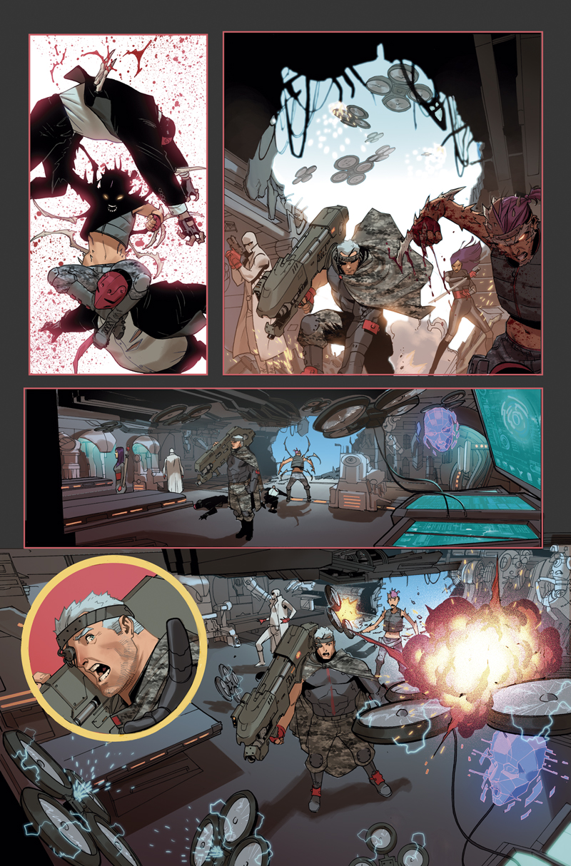 X-FORCE #5 Preview by ZurdoM