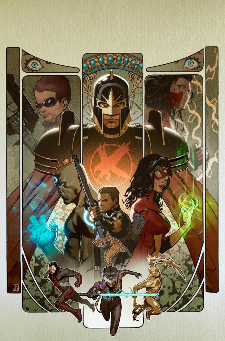 Avengers World #13 by ZurdoM