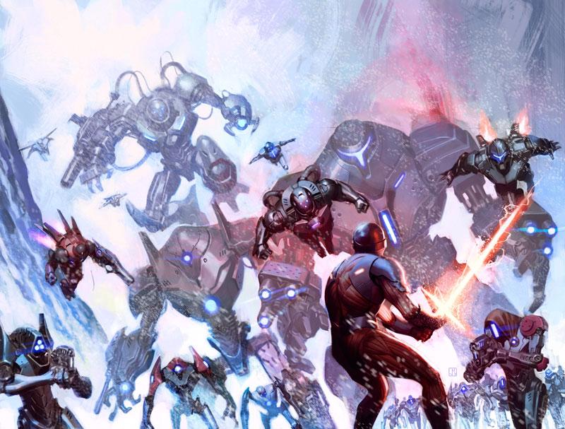 X-O Manowar #34 by ZurdoM