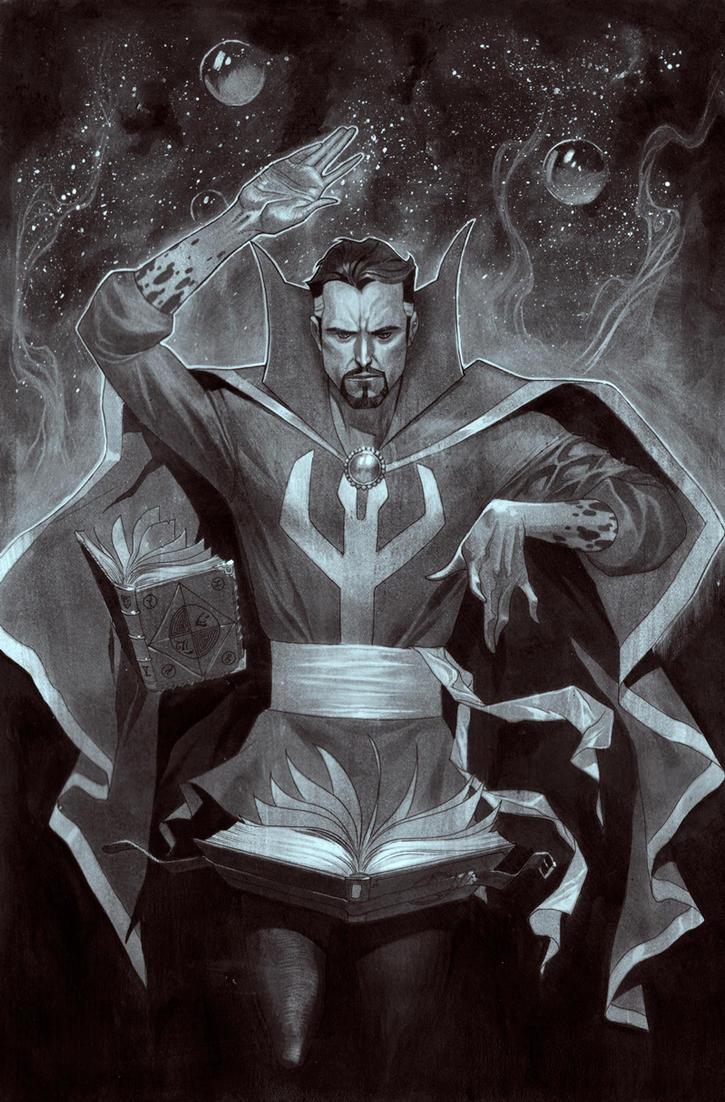 Dr. Strange Commission by ZurdoM