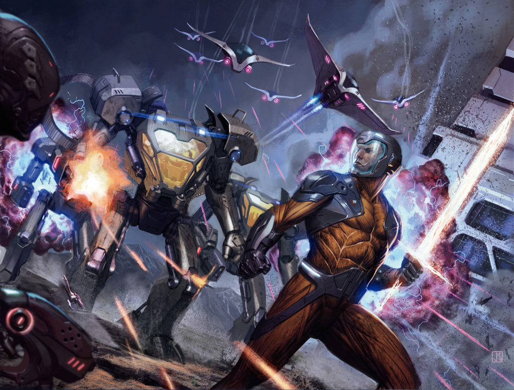 X-O Manowar #35 by ZurdoM