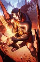 X-O Manowar #36 by ZurdoM