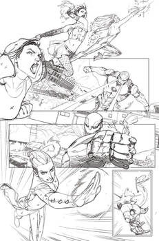 A-Force #2 Pencils