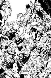 A-Force #5 Inks