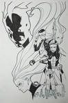 A-Force #3 Inks