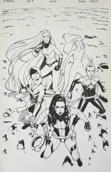 A-Force #4 Inks