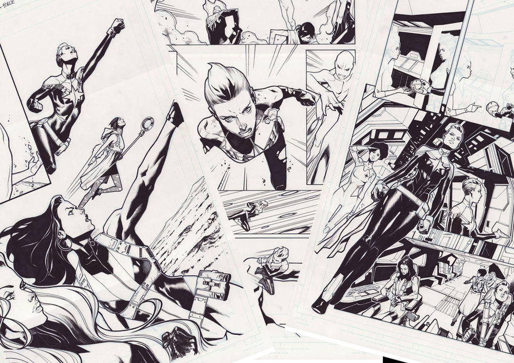 Original pages for sale! by ZurdoM