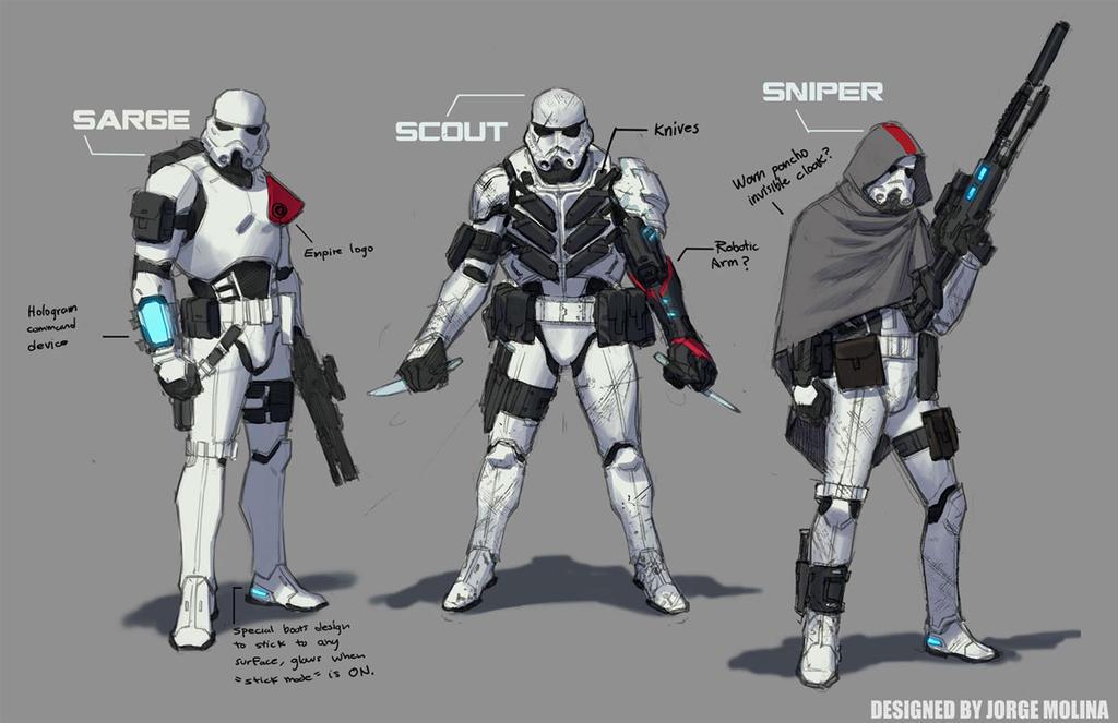 Stormtroopers by ZurdoM
