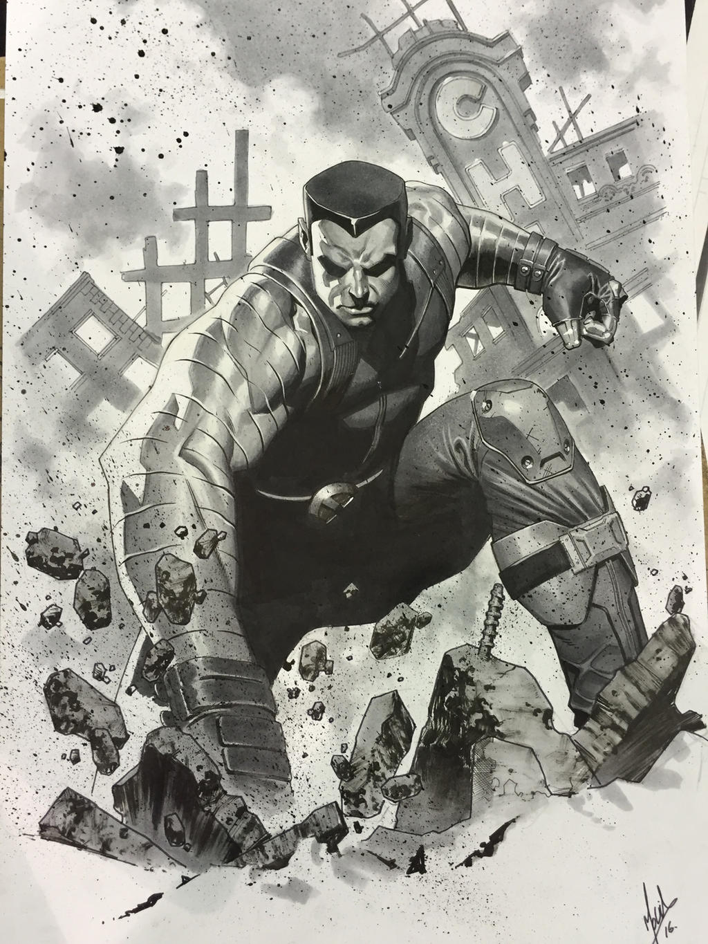 Colossus commission by ZurdoM
