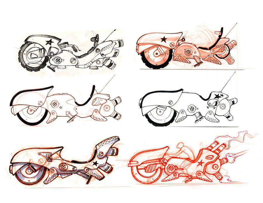 bikes by ZurdoM