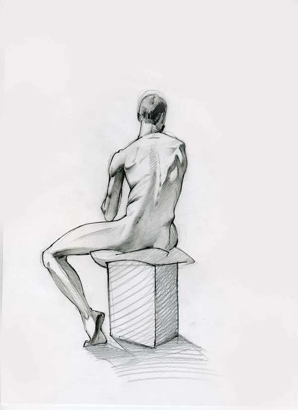 life drawing1 by ZurdoM