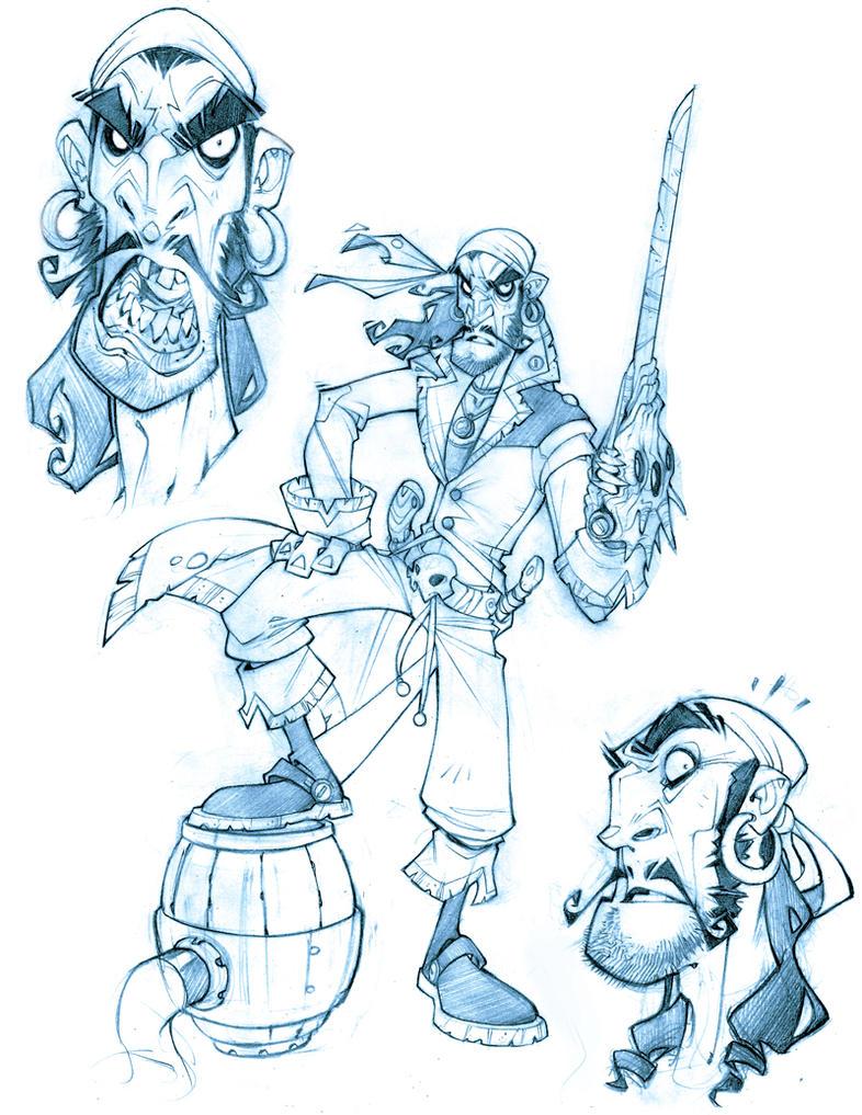 Line Art Characters : Sandoje line art by zurdom on deviantart