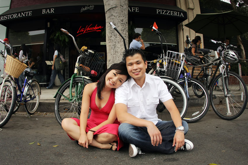 Santa Monica Engagement Photo2 by rubixcu8e