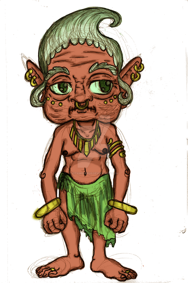 Buha the Goblin by VitaminVirus