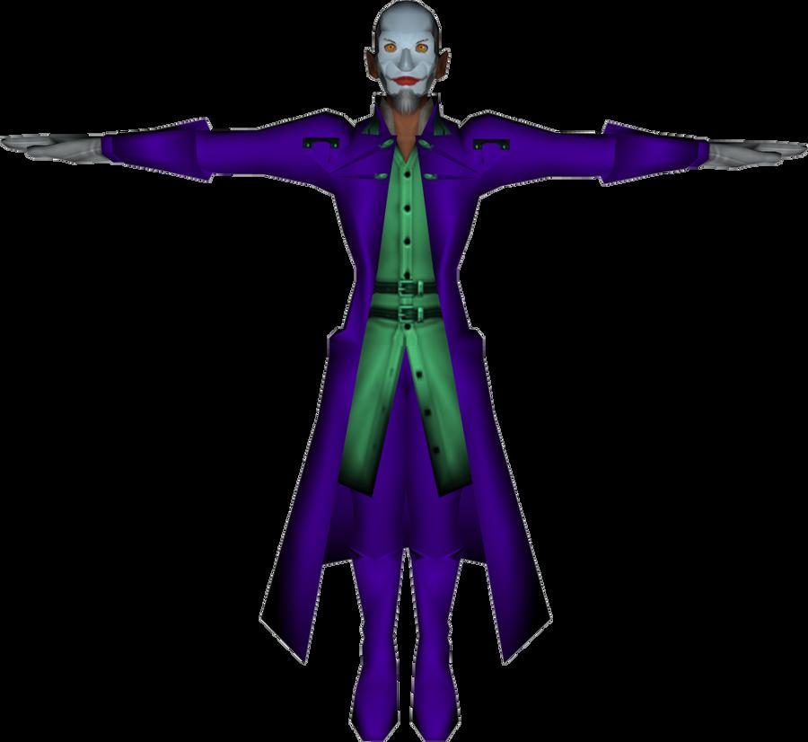 Leonard Nimoy as The Joker by 358-2days