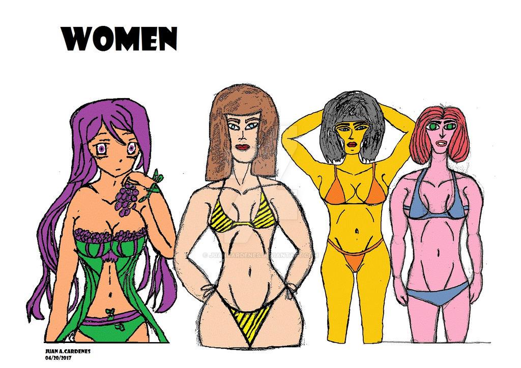 Women Drawing by Juancardenes