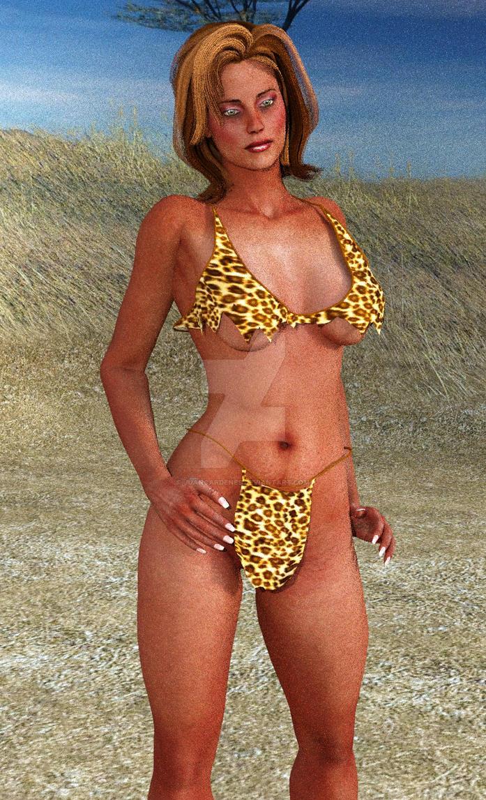 Savage Wild Woman by Juancardenes