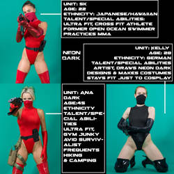 Patreon Custom Shoot Roster by Blacklaceinc