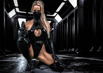 Sublet Combat Unit by Blacklaceinc