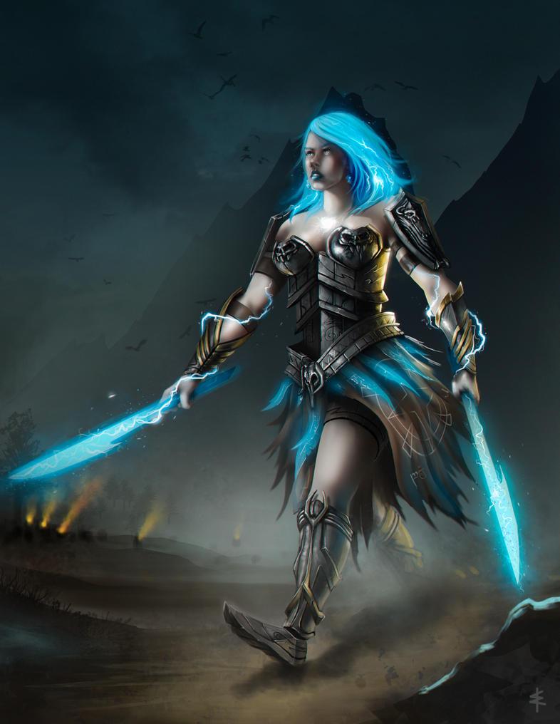 download wallpaper female warrior - photo #48