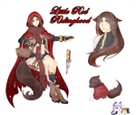 Little Red Ridinghood Adopt - [OPEN] by Milky-Pudding-Adopts
