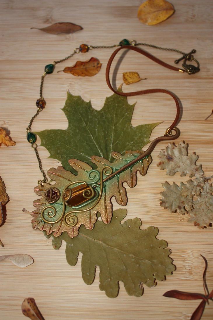 Oak Leaf - Foglia di Quercia by NaturaeCor